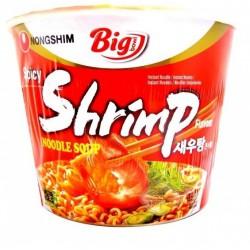 Nongshim Spicy Shrimp Noodle Soup 115g Big Bowl Nong Shim Korean Ramyun Noodles