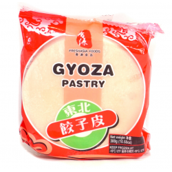 Fresh Asia Foods Gyoza Skins 300G Chinese Frozen Pastry Gyoza Wrappers