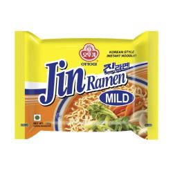 Ottogi Jin Ramen (Mild) Korean Style Instant Noodles 120g