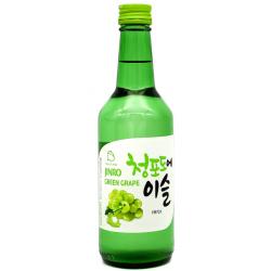 Jinro Grape Flavour Soju Alc 13% by vol 360ml Korean Fruit Soju