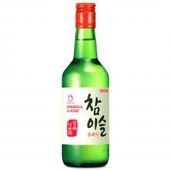 Jinro Classic Soju 350ml 20.1% abv Soju Origional Cham Yi Sul