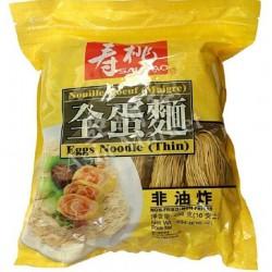 Sautao Thin Egg Noodle 454g 壽桃牌 全蛋幼麵 Sau Tao Thin Dried...