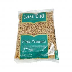 East End Pink Peanuts 1kg Deshelled Skin On Peanuts