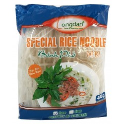 Longdan Special Rice Noodles 3mm 400g Banh Pho