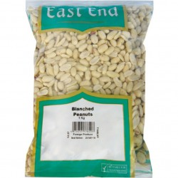 East End Blanched Peanuts 400g Deshelled Unsalted Peanuts