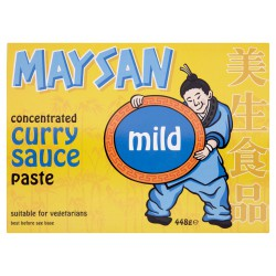 Maysan Curry 448g Concentrated Mild Curry Sauce Paste