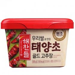 CJ Haechandle Red Pepper Paste  (TYC Gold) 500g Korean...