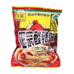 Bai Jia Noodles - Original Hot & Sour Flavour 105G (白家...