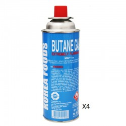 Korea Foods Butane Gas...