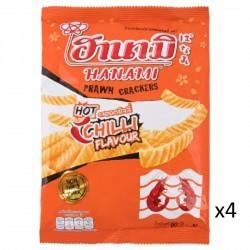Hanami Prawn Crackers 60gx4...