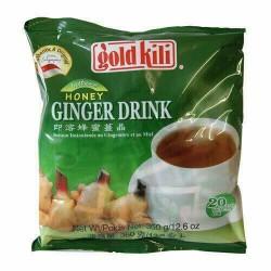 Gold Kili Instant Honey and Ginger Drink Multipack 360g...