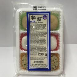 Sunwave Mochi Mo chi Mixed 230g 6pcs, Red Bean, Peanut,...