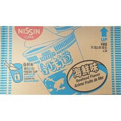 Nissin Cup Noodles 24x75g Seafood Flavour Instant Noodles