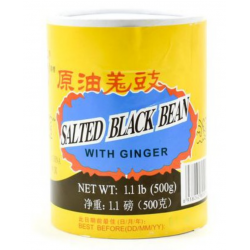 Furong Brand Salted Black Bean with Ginger (Cylinder)...