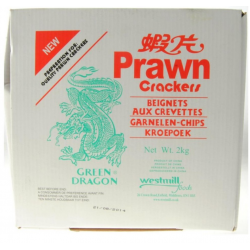 Green Dragon 2kg Prawn Crackers