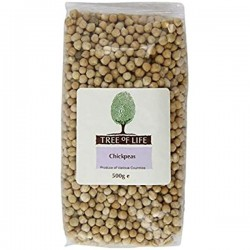 Tree of Life 500g Chick Peas