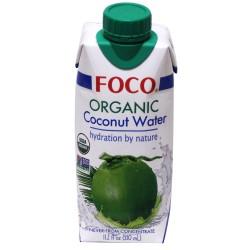 Foco Organic Coconut Water 330ml Organic Coconut Water in...