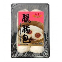 Honor Chinese Sausage Buns 240g Pack of 4 Frozen Buns