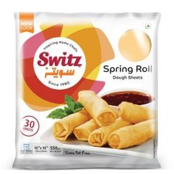 Switz 10inch Spring Roll Dough Sheets 550g 30 Spring Roll...