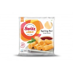Switz 20 x 8inch Spring Roll Dough Sheets 275g Spring...