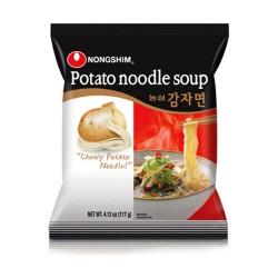 Nongshim Potato Noodle Soup 100g (농심 감자면) Korean Chewy...