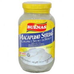 Buenas Macapuno String Coconut Sport In Syrup 340g...