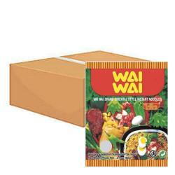 Wai Wai Noodles 30x55g Oriental Style Thai Instant Noodle