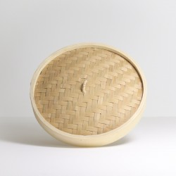"""East Asia Brand 10"""" Bamboo Steamer Cover"""