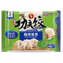 Kung Fu Food Dumplings Pork & Coriander Gyoza 400g...