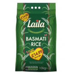 Laila Basmati Rice 10kg...