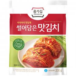 Chongga Mat Kimchi 200g 종가집 - 맛김치 Cut Cabbage Fresh Kimchi NEW PACKAGING 2020