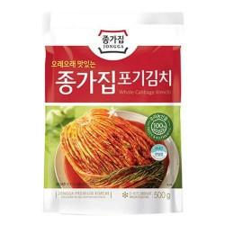 Jongga Pog Gi Whole Cabbage Kimchi 500g 종가 포기김치 Chongga Fresh Kimchi NEW PACKAGING 2020