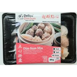 Delico Dim Sum Mix 360g Frozen Variety Pack