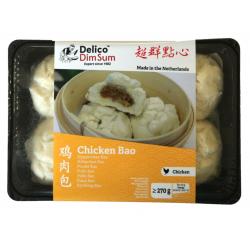 Delico Frozen Dim Sum Chicken Bao 270g