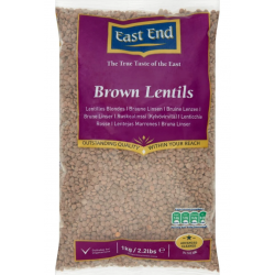 East End 1kg Brown Lentils