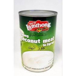 New Lamthong 425g Young Coconut Meat in Syrup