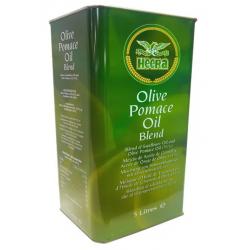 Heera Olive Pomace Oil 5L (51%) Olive Pomace Oil & Sunflower Oil Blend