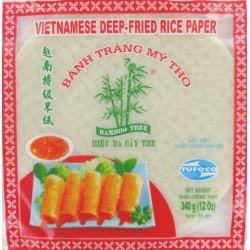 Bamboo Tree Vietnamese Deep-Fried Round Rice Paper 22cm 340g Deep-Fried Rice Paper