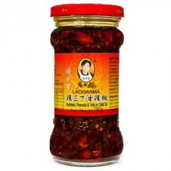 Laoganma Kohlrabi 280g Peanuts & Tofu in Chilli Oil