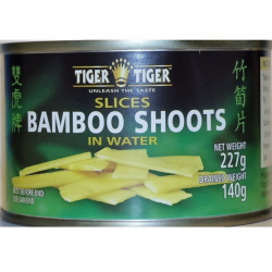 Tiger Tiger Sliced Bamboo Shoots 227g in water