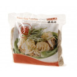 SCLA Lion Wonton Noodles 450g  Fresh Chilled Egg Noodle