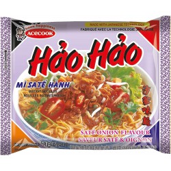 Acecook Hao Hao 74g Sate Onion Flavour