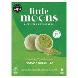Little Moons Matcha Green Tea 192g Soft Mochi Gelato Ice...