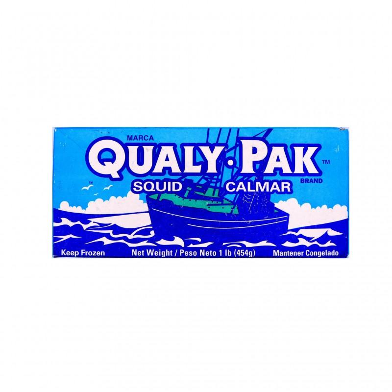 Marca QualyPak Wild Squid 454g Frozen Squid Calamari
