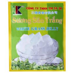 3K Food White Grass Jelly...