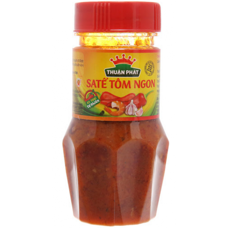 Thuan Phat Satế Tom Ngon 85g Shrimp Sate Sauce Spicy