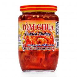 Ngọc Liên Tôm Chua 430g Vietnamese Pickled Shrimp