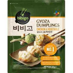 CJ Bibigo Gyoza Dumplings Chicken and Vegetable 600g