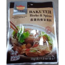 Tean's Gourmet Bakuteh Herbs & Spices 35g Herbs & Spices...