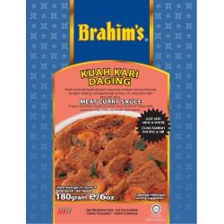 Brahim's Kuah Kari Daging Meat Curry Sauce 180g Meat...
